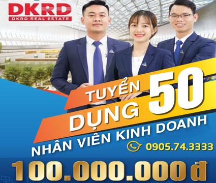 Tuyển dụng 50 cv Kinh Doanh BĐS tại DKRD Quy nhơn 2021
